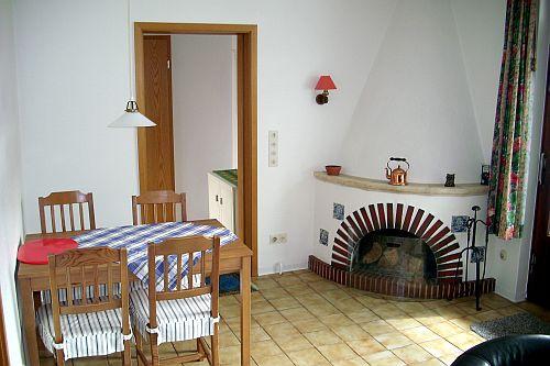 Büsum Ferienwohnung mit Kamin - ideal für Winterurlaub