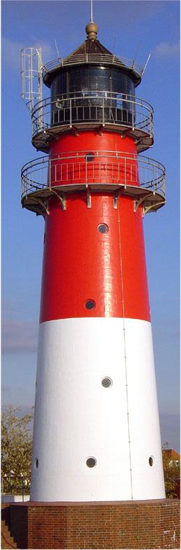 Büsum Leuchtturm am Hauptstrand